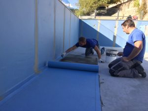 swimming pool waterproofing